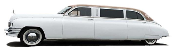 Vintage luksuslimousine for selskapskjøring, VIP-transport og bryllup
